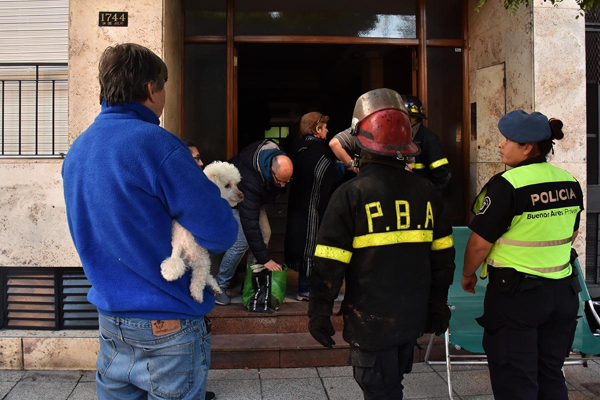 Tras el incendio, se reciben donaciones para los damnificados