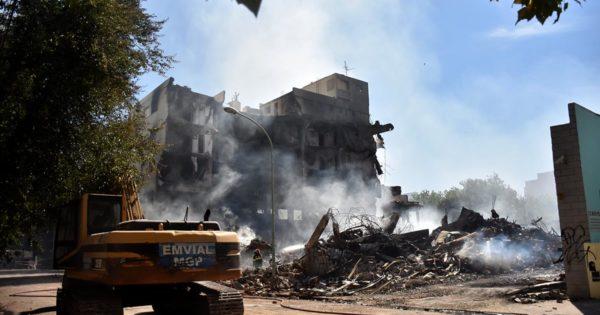 Incendio en Torres y Liva: aprehendieron a un hombre