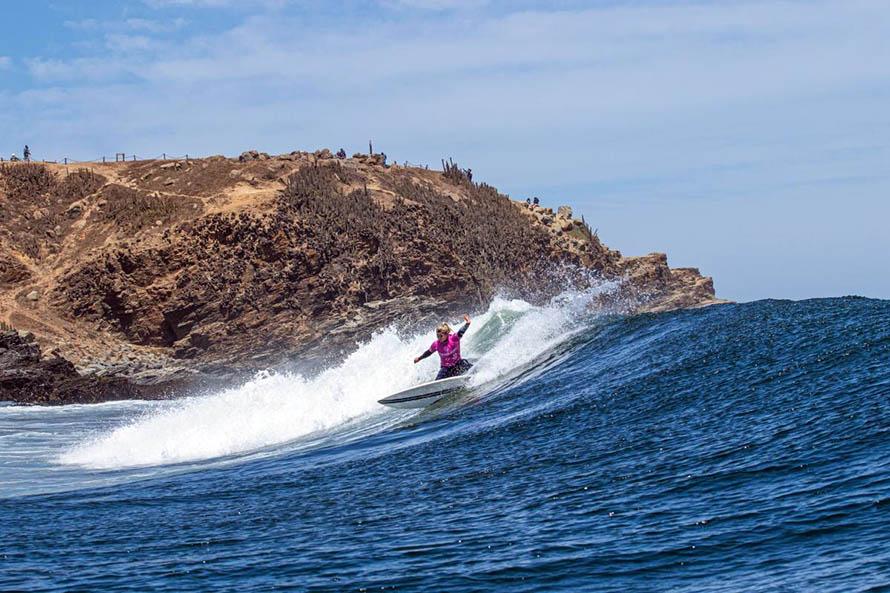 Surf: Ané terminó en el puesto 13 del Mothernest Great Lakes Pro 2020
