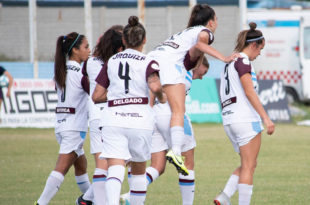 Marina Delgado abrió el marcador en la goleada de la UAI Urquiza