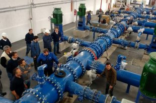 Centro de Abastecimiento de Agua: inician pruebas de bombeo a la red