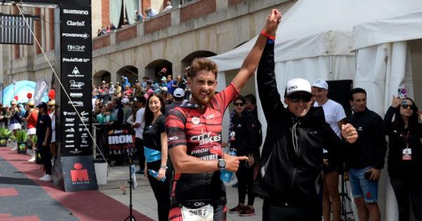 Galíndez y Duncombe, los campeones de la tercera edición del Ironman en Mar del Plata