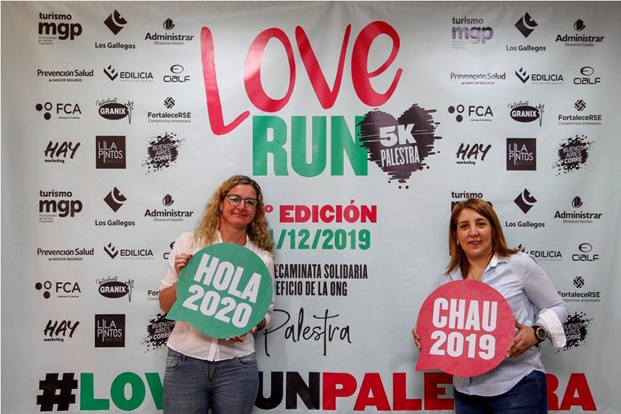 """""""LoveRun"""", una correcaminata para terminar el 2019 de una forma diferente"""
