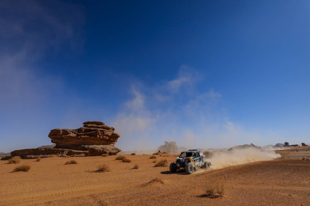 Dakar 2020: Omar Gándara completó la cuarta etapa en la novena ubicación