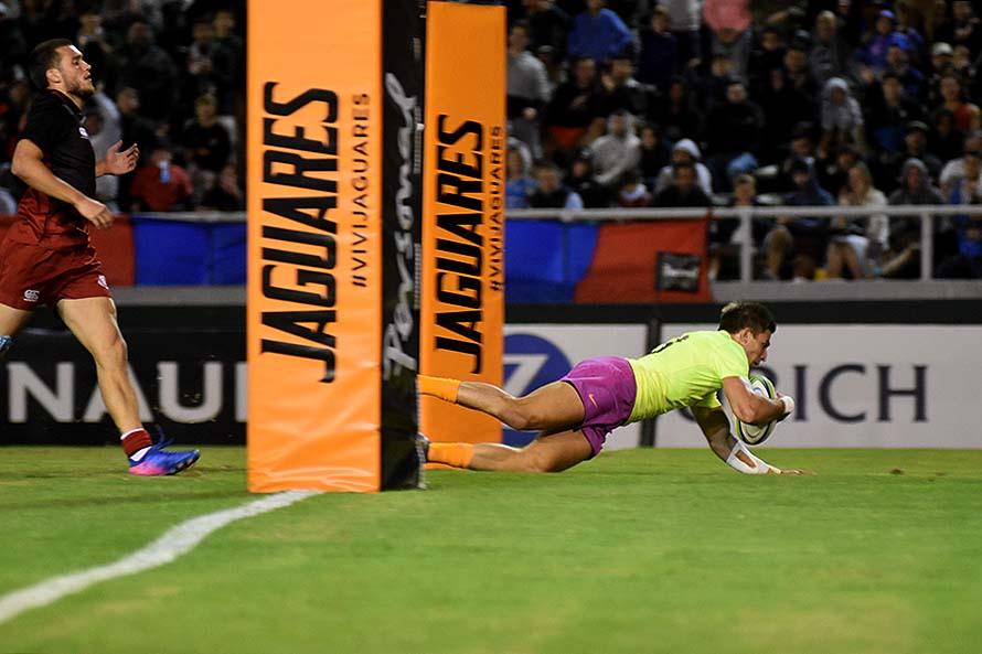 Rugby: Jaguares se lució en Mar del Plata y aplastó a Georgia XV