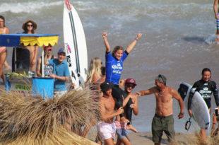 Surf: Ané y Usuna se quedaron con la primera fecha del Circuito Argentino