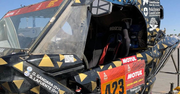 Dakar 2020: Omar Gándara abandonó la competencia