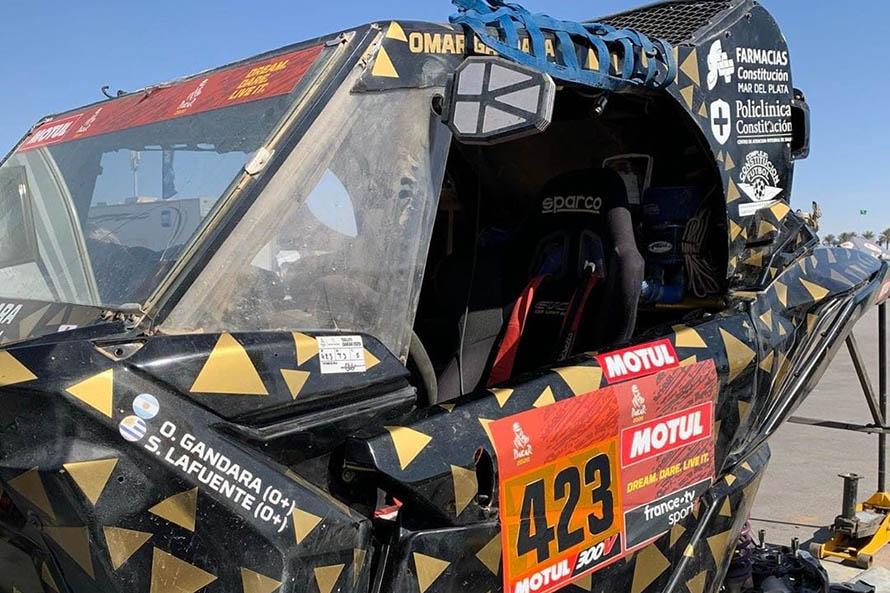 Dakar 2020: Omar Gándara debió abandonar la sexta etapa