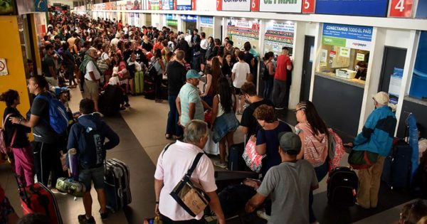 En la primera quincena de enero llegaron 642.128 turistas a Mar del Plata