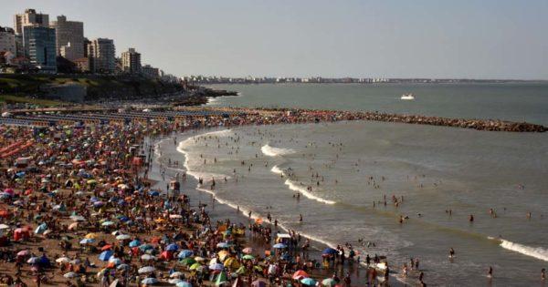 Fin de semana con calor en Mar del Plata: pronostican máximas superiores a 30°