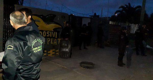 Usurpaban casas para vender droga en Nuevo Golf: cinco detenidos