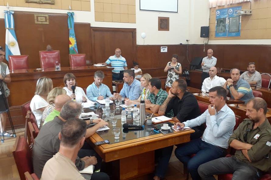Nocturnidad: se reunió una mesa de trabajo en el Concejo Deliberante