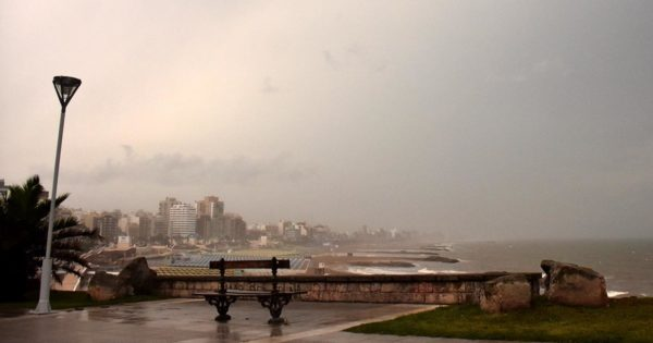 Rige un aviso a corto plazo por tormentas fuertes en Mar del Plata