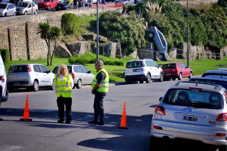 Choque en el Paseo Dávila: el conductor deberá pagar $2 millones para los arreglos