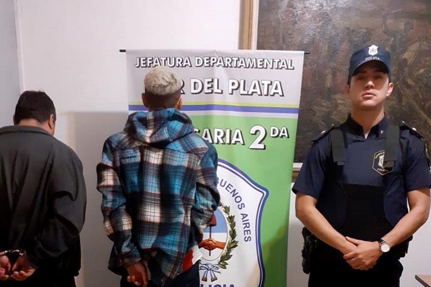 Entraron a robar a una casa y maniataron a dos ancianos: dos detenidos