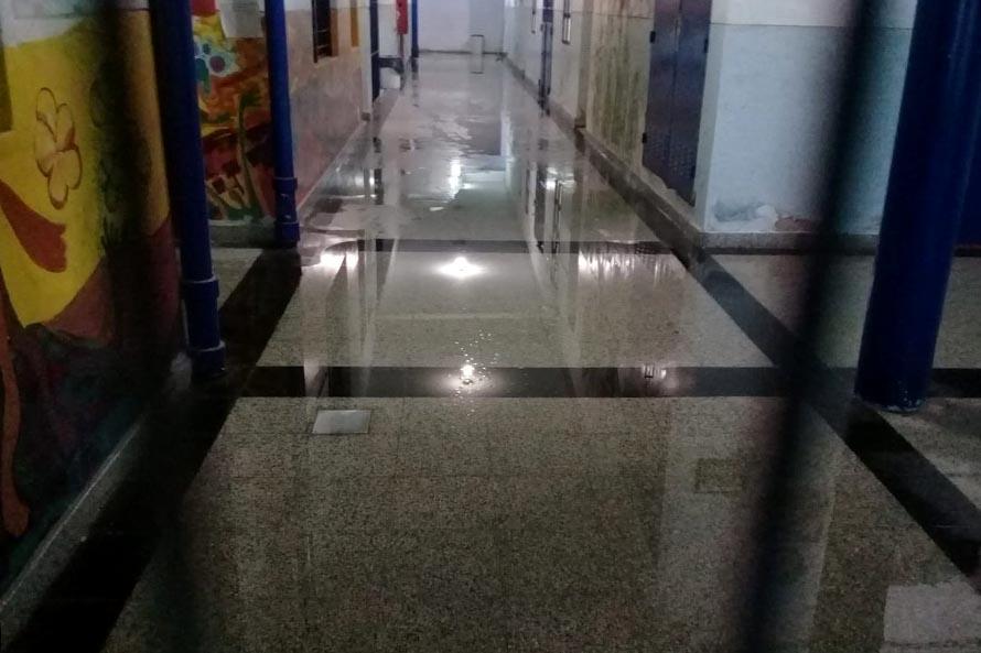 Escuelas bajo el agua: vuelven a exigir la implementación del Fondo Educativo