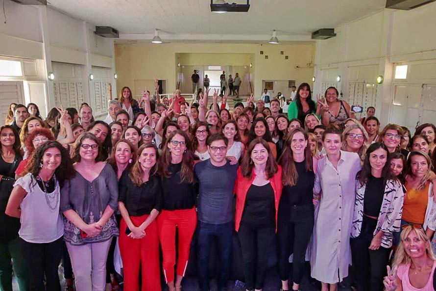 Con la presencia de Kicillof, cerró el foro federal contra la violencia de género