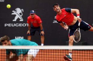 Horacio Zeballos se quedó sin final en el Masters de Montecarlo