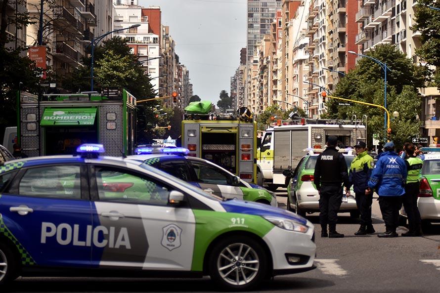 Incendio en un edificio del centro: murió una anciana