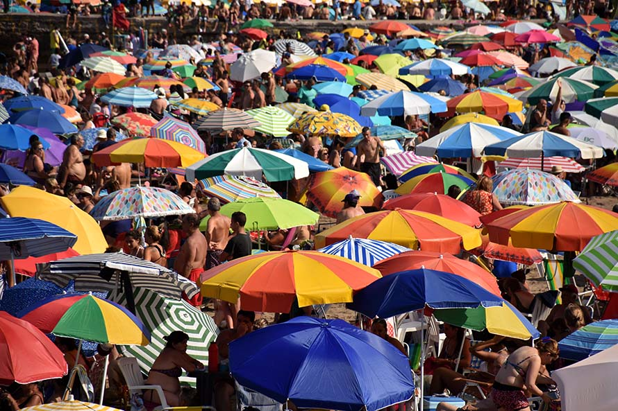 Carnaval: con 287 mil arribos, creció un 13% la llegada de turistas a Mar del Plata