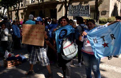 PROTESTA RECLAMO MTR VOTAMOS LUCHAR (3)