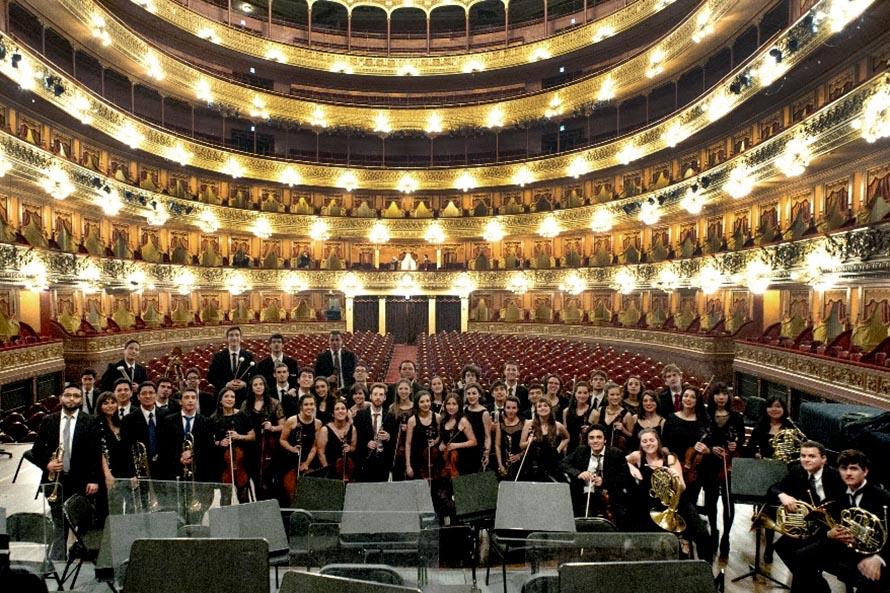 Un concierto gratuito de la Orquesta Académica del Instituto Superior de Arte del Teatro Colón