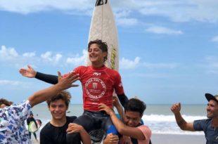 Surf: dos jóvenes campeones en la segunda fecha del Tour Argentino