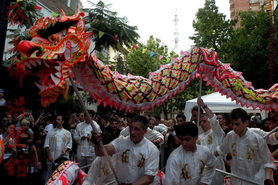 Año Nuevo Chino en Mar del Plata, con actividades en la Plaza del Agua