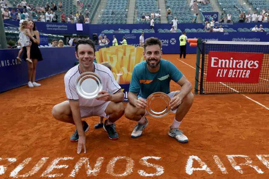 Horacio Zeballos se consagró campeón del Argentina Open en dobles