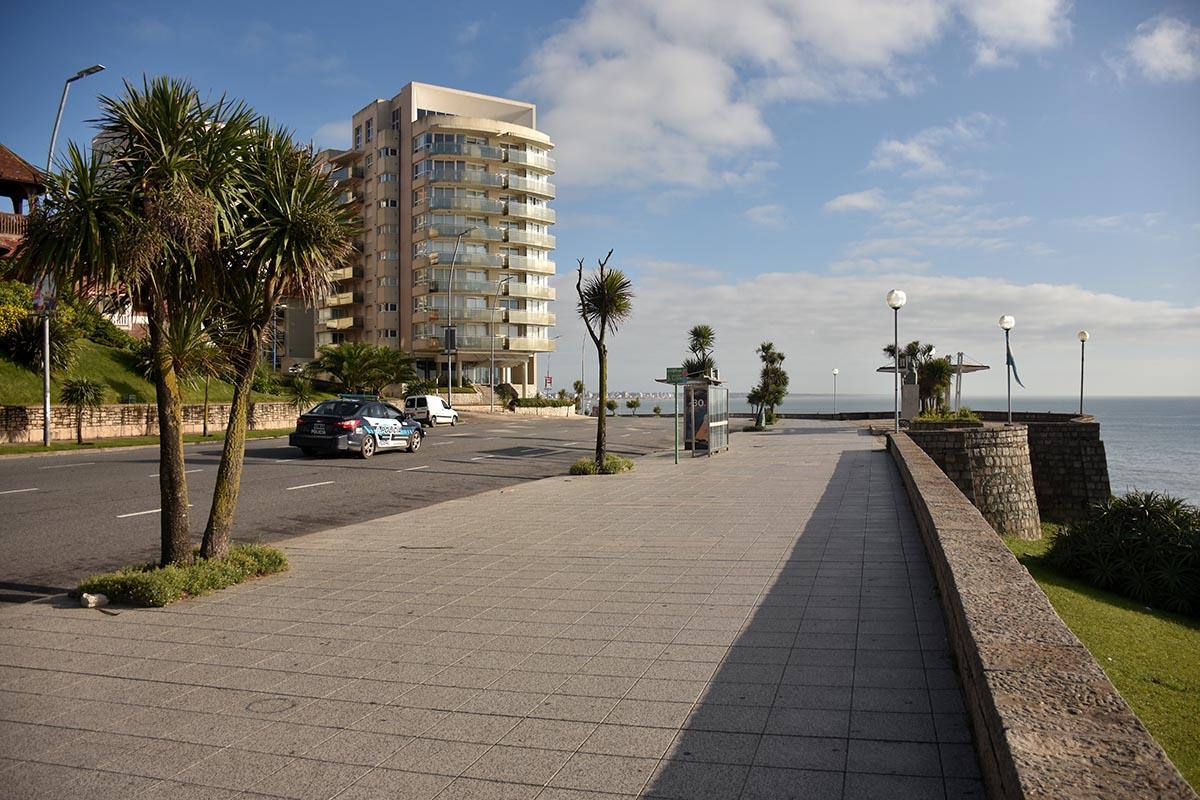 Domingo soleado y con buen tiempo en Mar del Plata