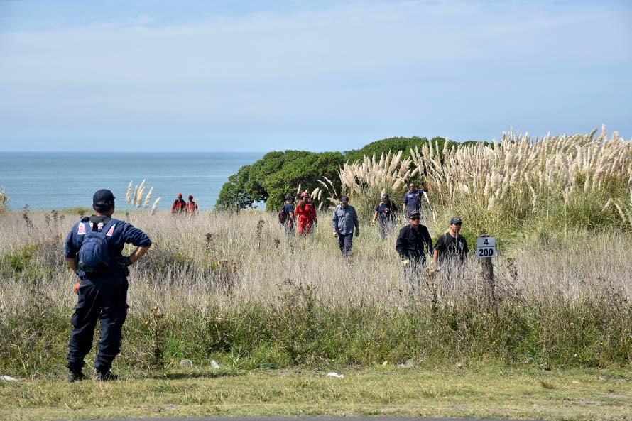 Búsqueda de Claudia Repetto: intensifican el rastrillaje en la zona de Los Acantilados