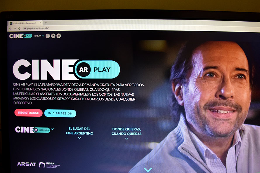 Proyecciones especiales de cine en la plataforma web