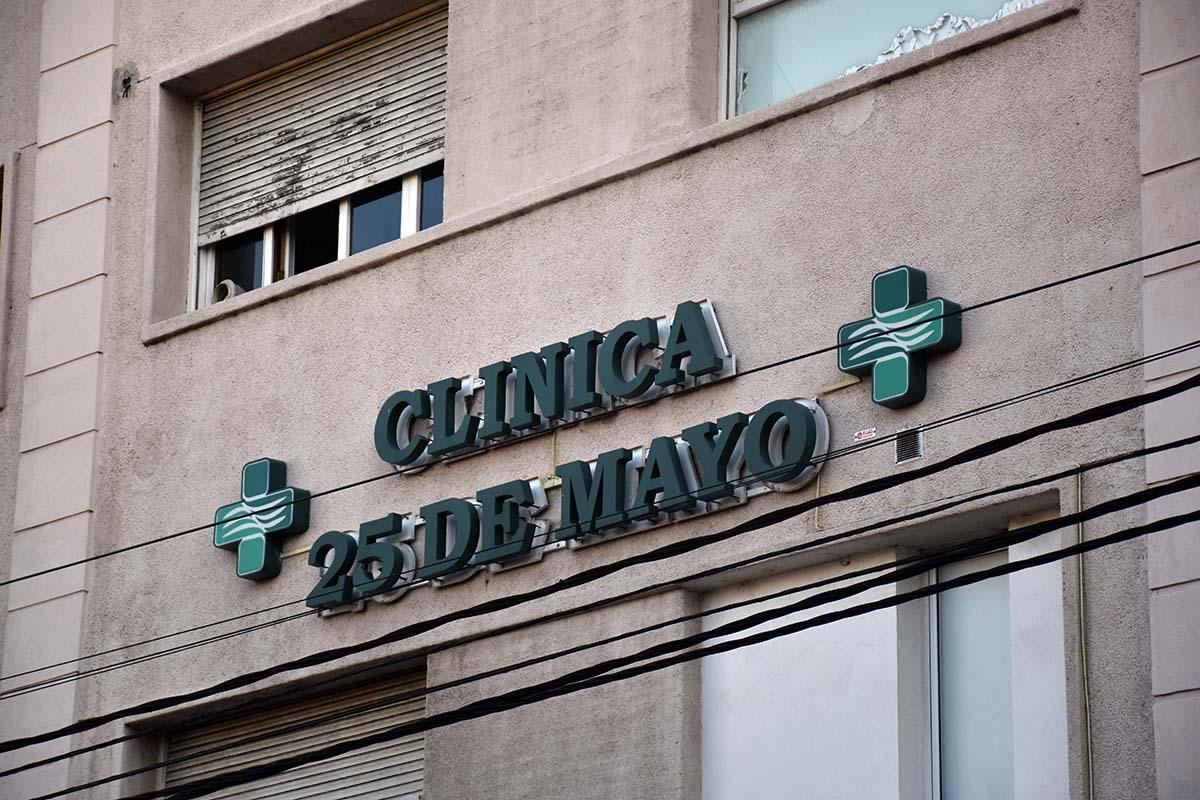 Tres trabajadoras de la Clínica 25 de Mayo dieron positivo en coronavirus