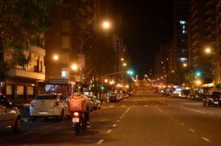 Las restricciones nocturnas rigen al menos hasta el 31 de enero en la Provincia