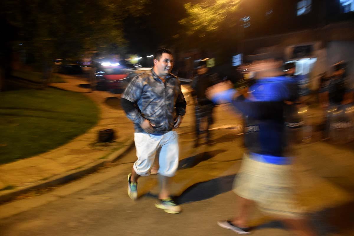 """Habló el hombre que atrapó a Rodríguez: """"Venía en bicicleta y agachaba la cabeza"""""""