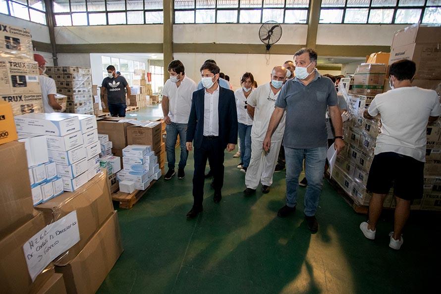 Kicillof anunció el envío de nuevo equipamiento sanitario e insumos a los hospitales