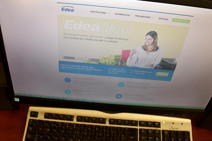 EDEA: ante el coronavirus, trámites por internet y atención solo por turnos