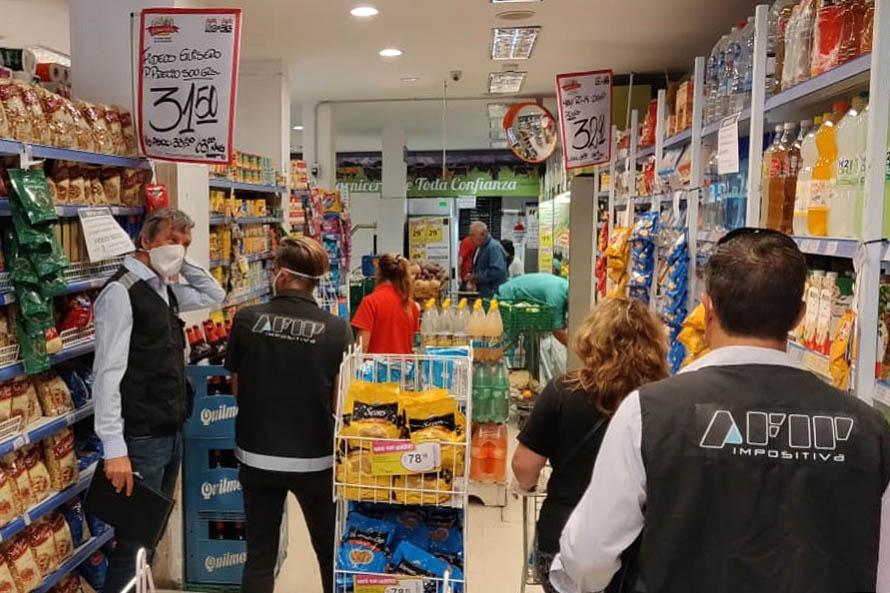 Inspectores de AFIP realizan controles de precios en Mar del Plata