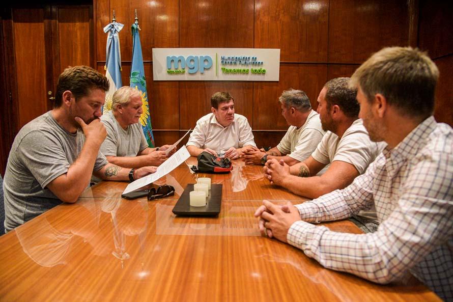 El gobierno pidió al Concejo avances para la contratación de la Mutual de Guardavidas