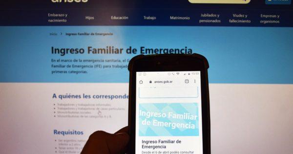 Ingreso Familiar de Emergencia: el cronograma de pago empezará el 21 de abril