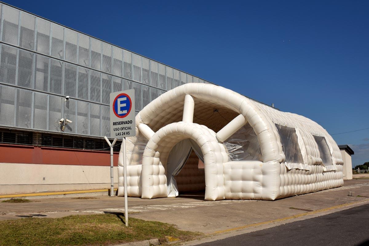 """El """"Centro Covid"""" del CEMA comenzará a funcionar este jueves"""