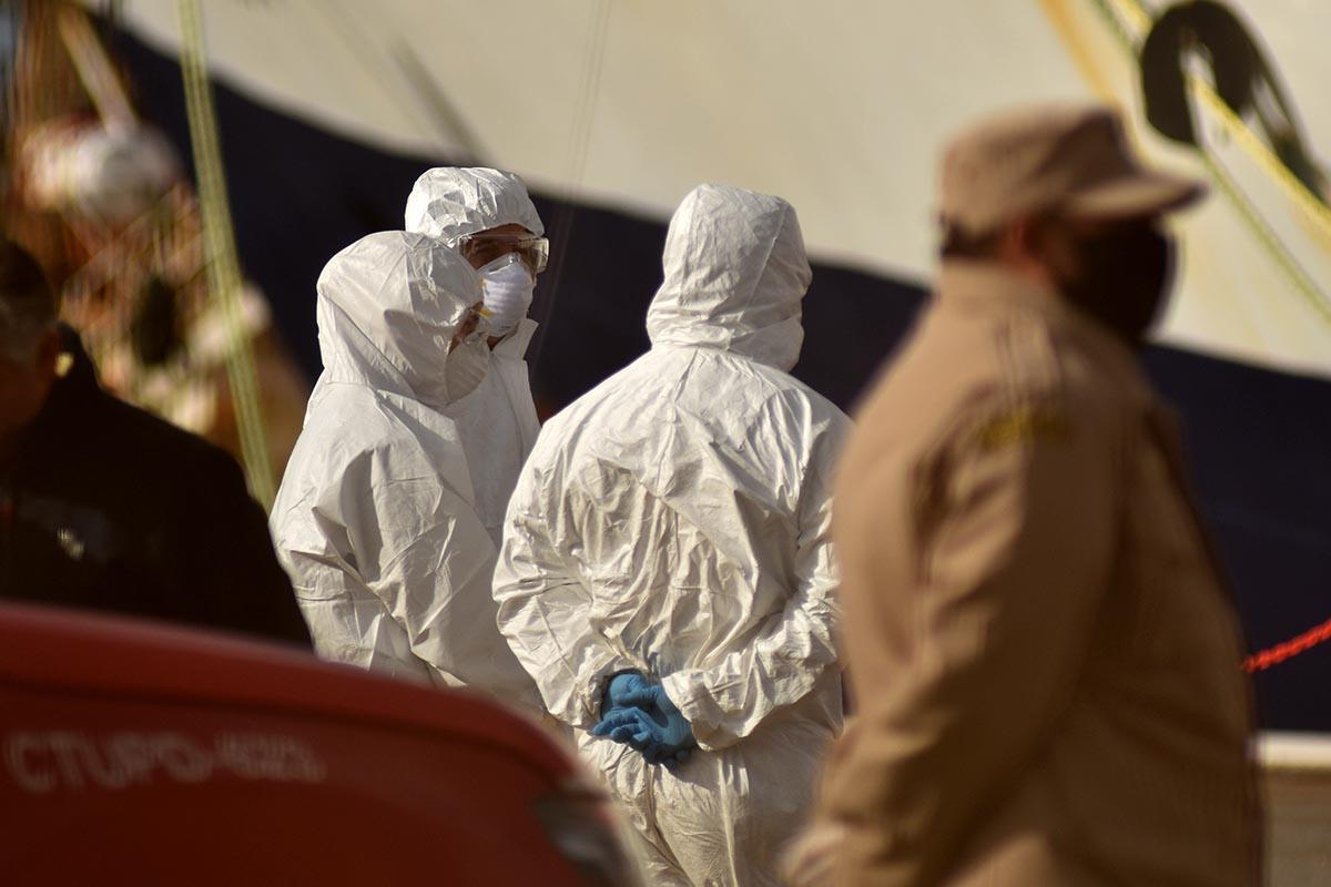 """Ocho de los diez tripulantes del """"Insólito"""" dieron positivo en coronavirus"""