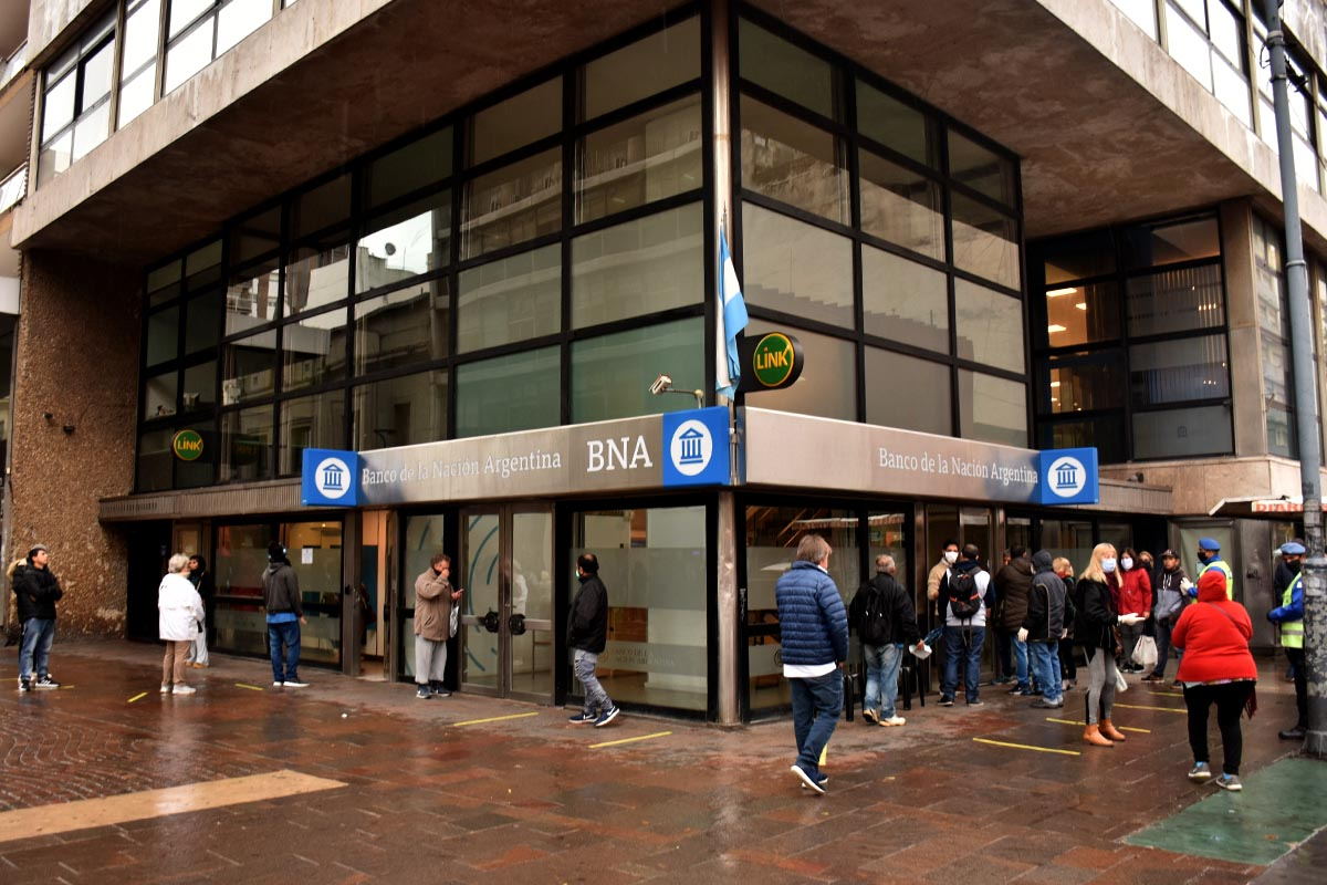 Cierran una sucursal del Banco Nación ante un caso sospechoso de coronavirus