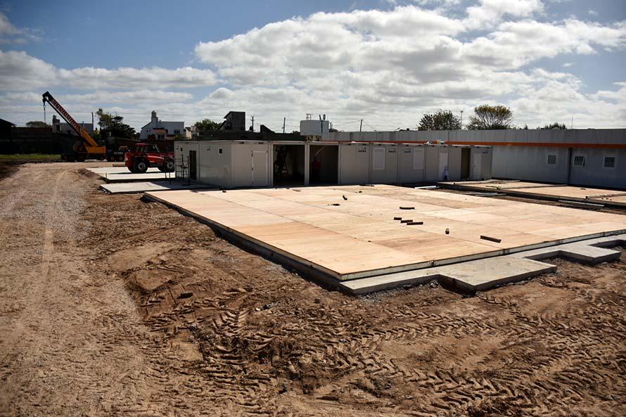 """Anunciaron la instalación de un """"centro modular sanitario"""" para Mar del Plata"""