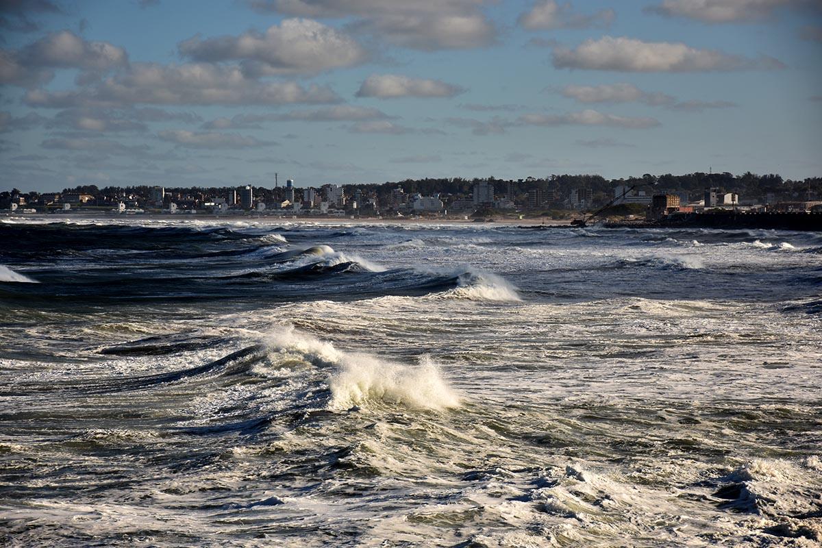 Fin de semana con fuertes ráfagas de viento en Mar del Plata