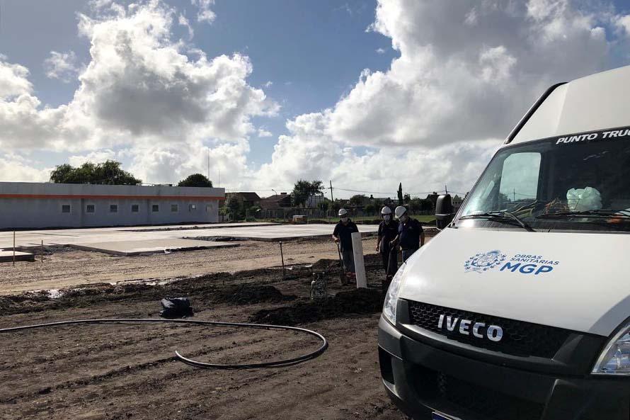 Avanzan los trabajos para la construcción del hospital modular