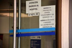 Coronavirus: críticas al funcionamiento de los protocolos en el Hospital Houssay