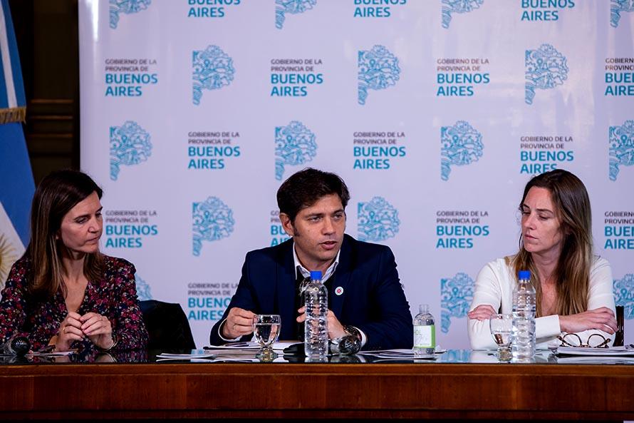 Kicillof anunció un aumento en el Servicio Alimentario Escolar por la cuarentena