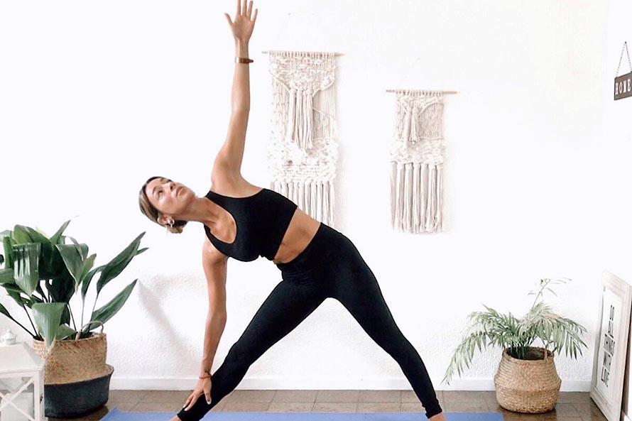 Yoga en cuarentena, una práctica para equilibrar mente y cuerpo en casa