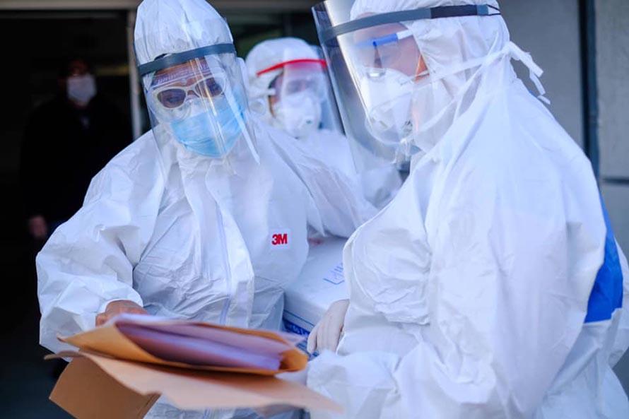 Coronavirus: realizan estudios a los contactos de la trabajadora de la salud infectada